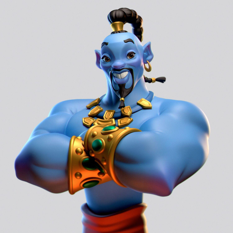 Aladdin Genie Will Smith Meme