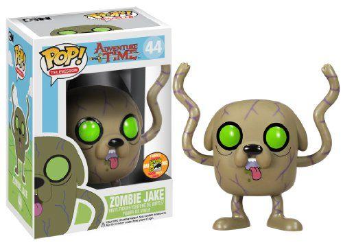 Funko Pop Television Zombie Jake Adventure Time Vinyl Figure Sdcc Exclusive Funko Http Www Amazon Com Dp B00brbdi Funko Pop Toys Pop Vinyl Figures Pop Toys