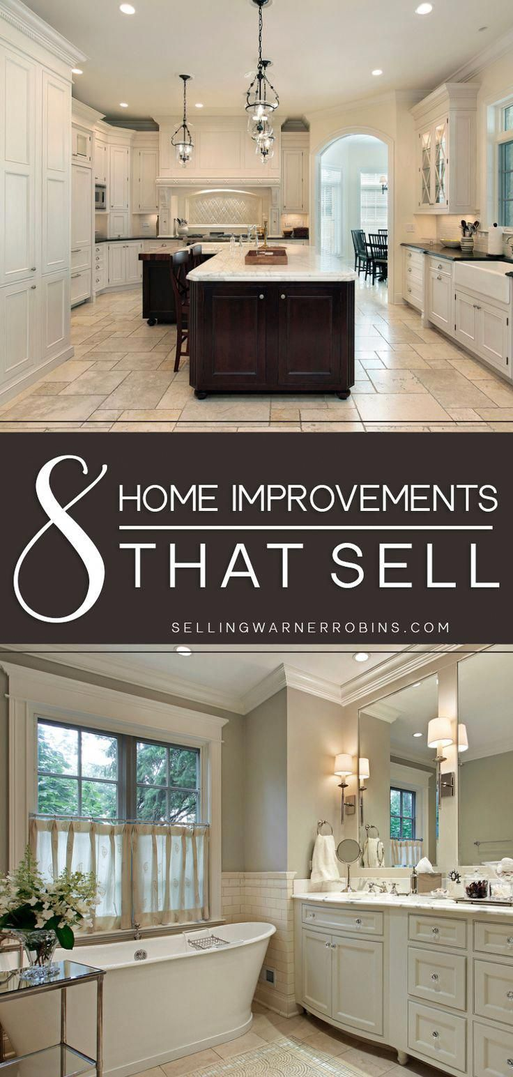 Eight home improvement projects to complete before selling