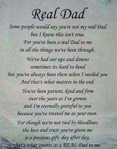 Real dad | Dad quotes from daughter, Fathers day quotes, Dad ...