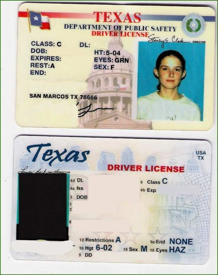 Texas Fake Id Template Download 18 Approach That Prove Your Strands 2020 Template For Free Id Card Template Drivers License Card Template