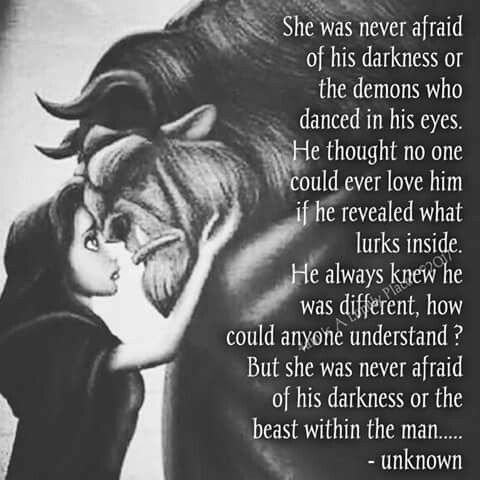 I M Not Scared Of Your Side I Love You Beast Quotes Love Quotes Disney Quotes