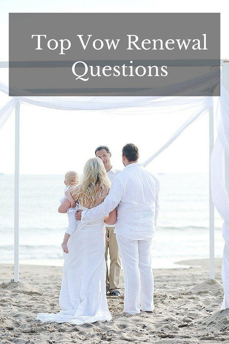 Renewing Wedding Vows Wedding renewal vows, Vow renewal