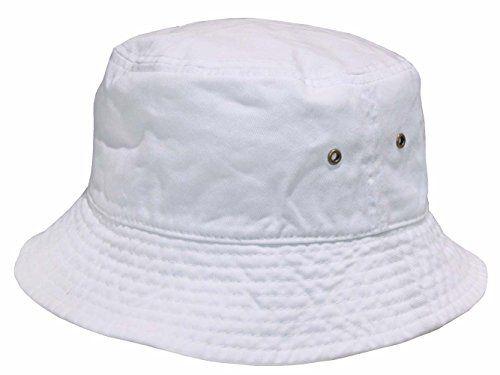 c26dba65c59 Short Brim Visor Cotton Bucket Sun Hat