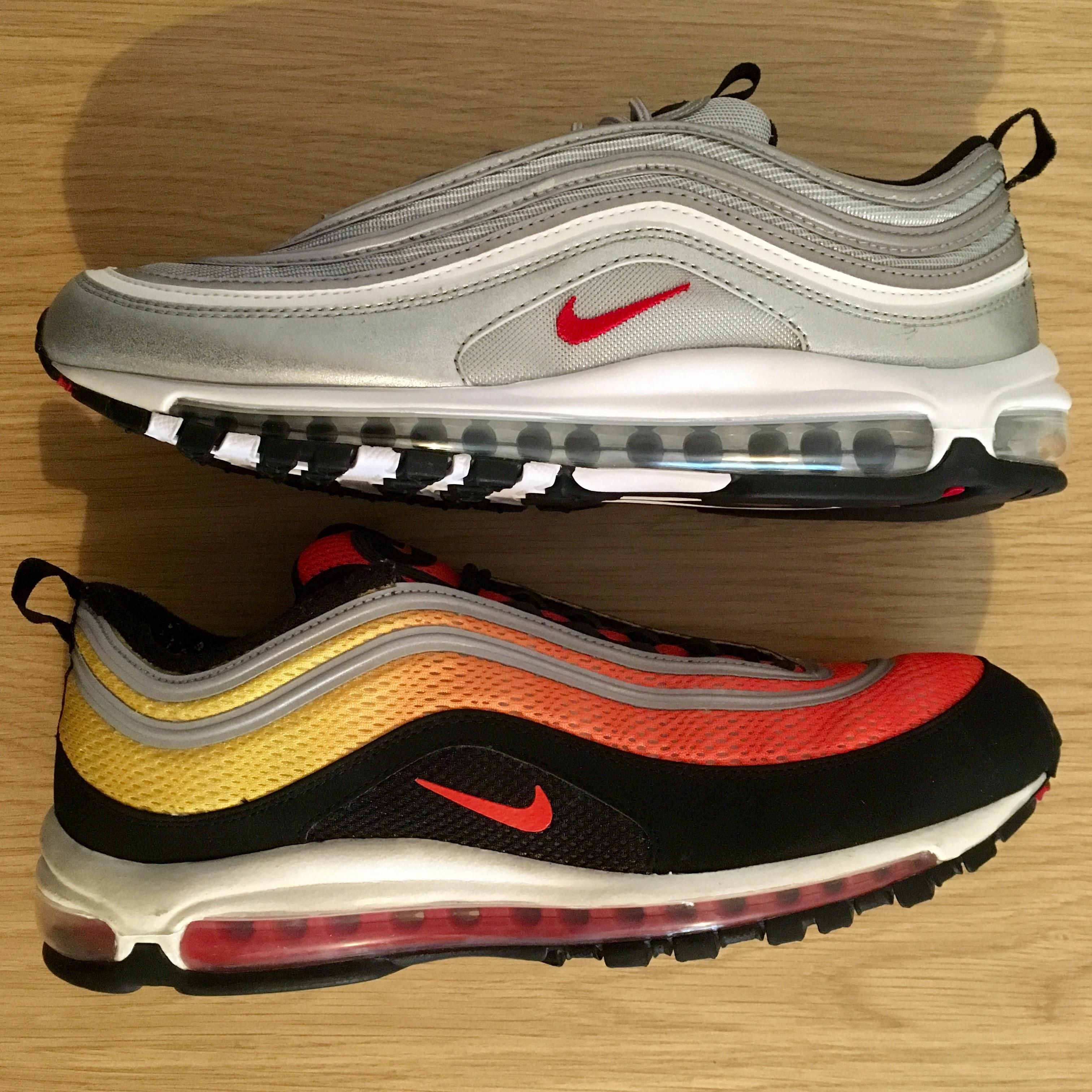 Air Max 97 - Silver Bullet / Sunset