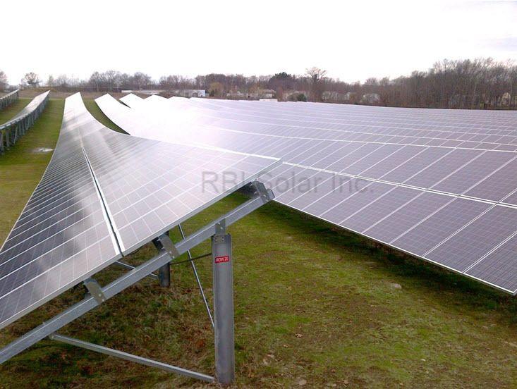 Rbi Ground Mount Solar System Solar Solar Panels Solar Installation