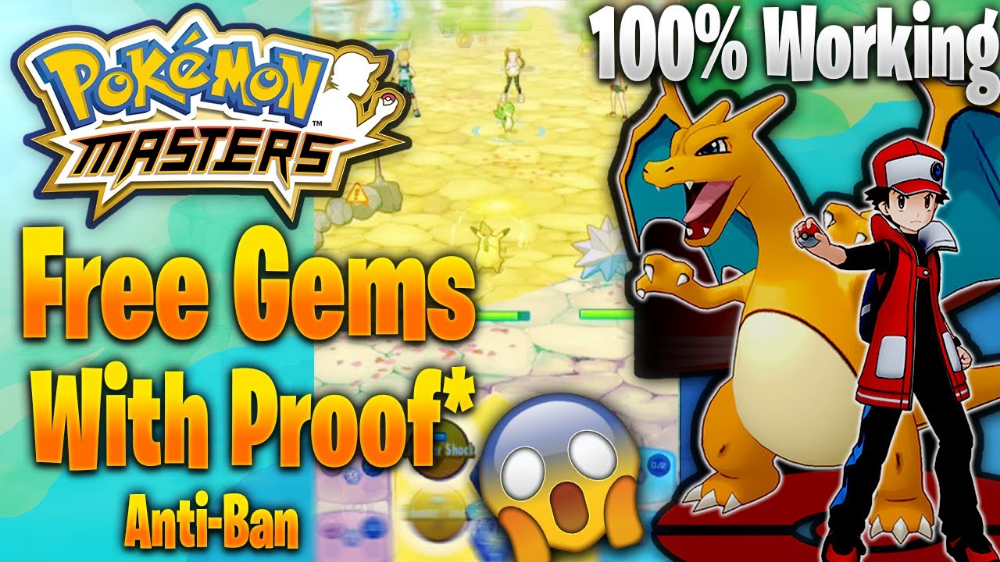 Pokemon Masters Hack Gems How To Get Unlimited Gems For Pokemon Masters Free Free Gems Pokemon Pokemon Memes