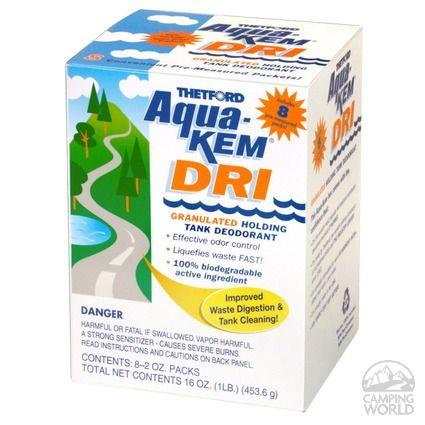 Pack of 12 Thetford 96012 Aqua-KEM Morning Sky Toss-Ins