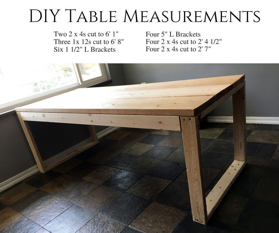Make Your Own Diy Dining Table In 2020 Diy Dining Diy Dining