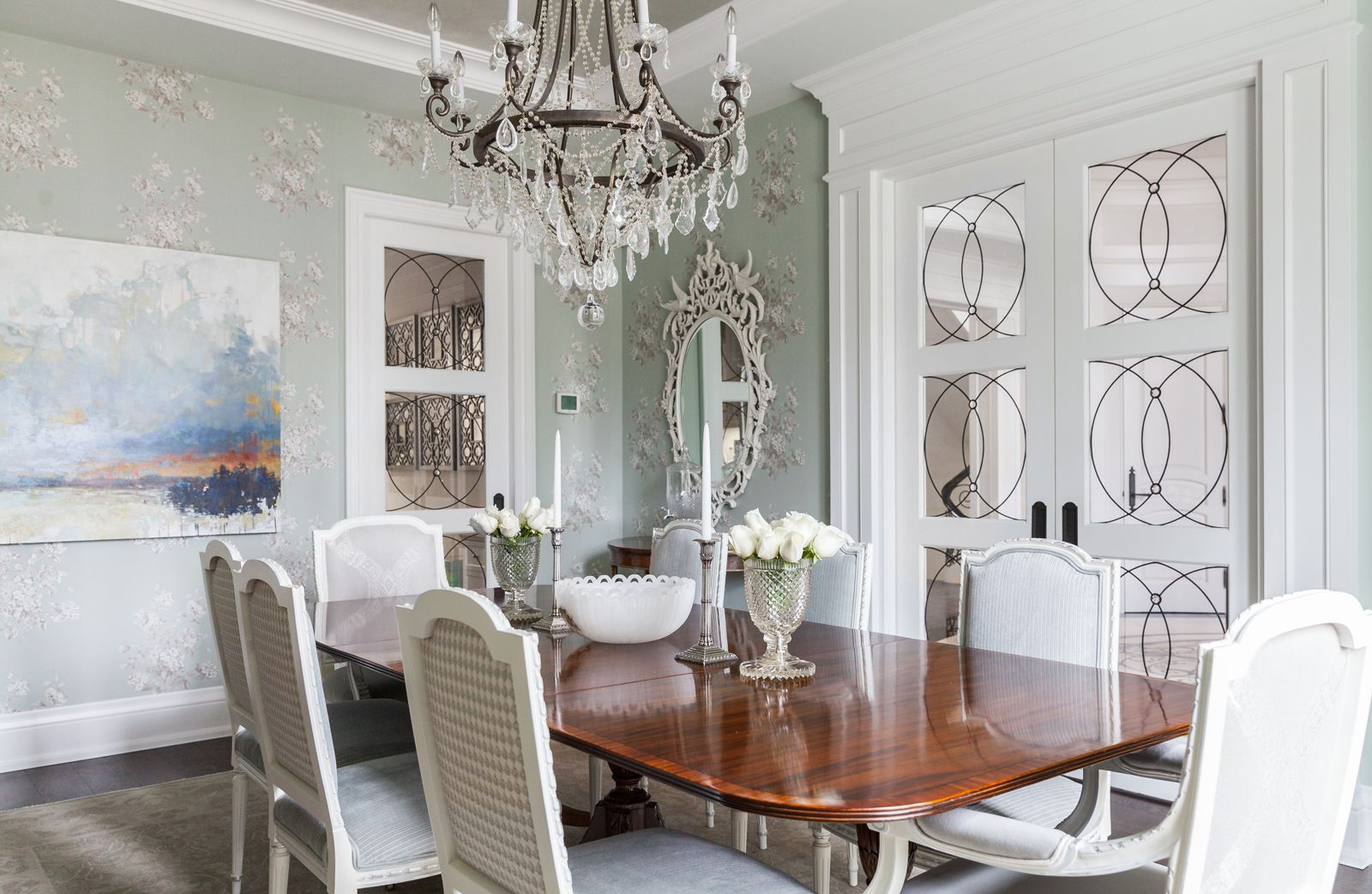 Opulent Dining | Full Dining Room With Table