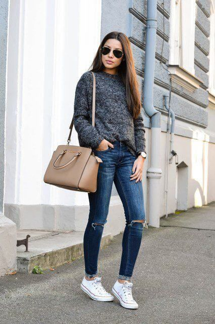 Jeans In Winter: 20 Stylish Outfits With Denims To Inspire | White ...