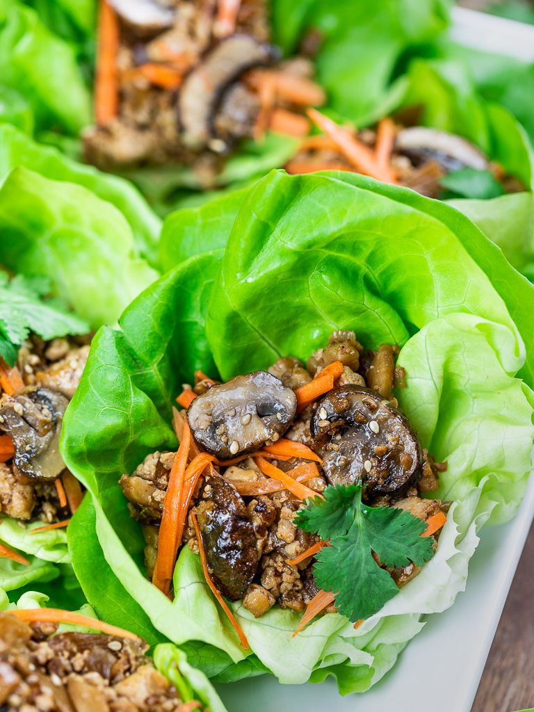 Pf changs inspired vegetarian lettuce wraps recipe