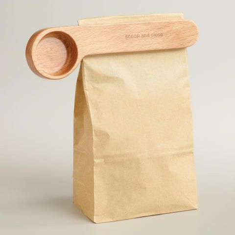 Coffee Scoop and Clip | World Market