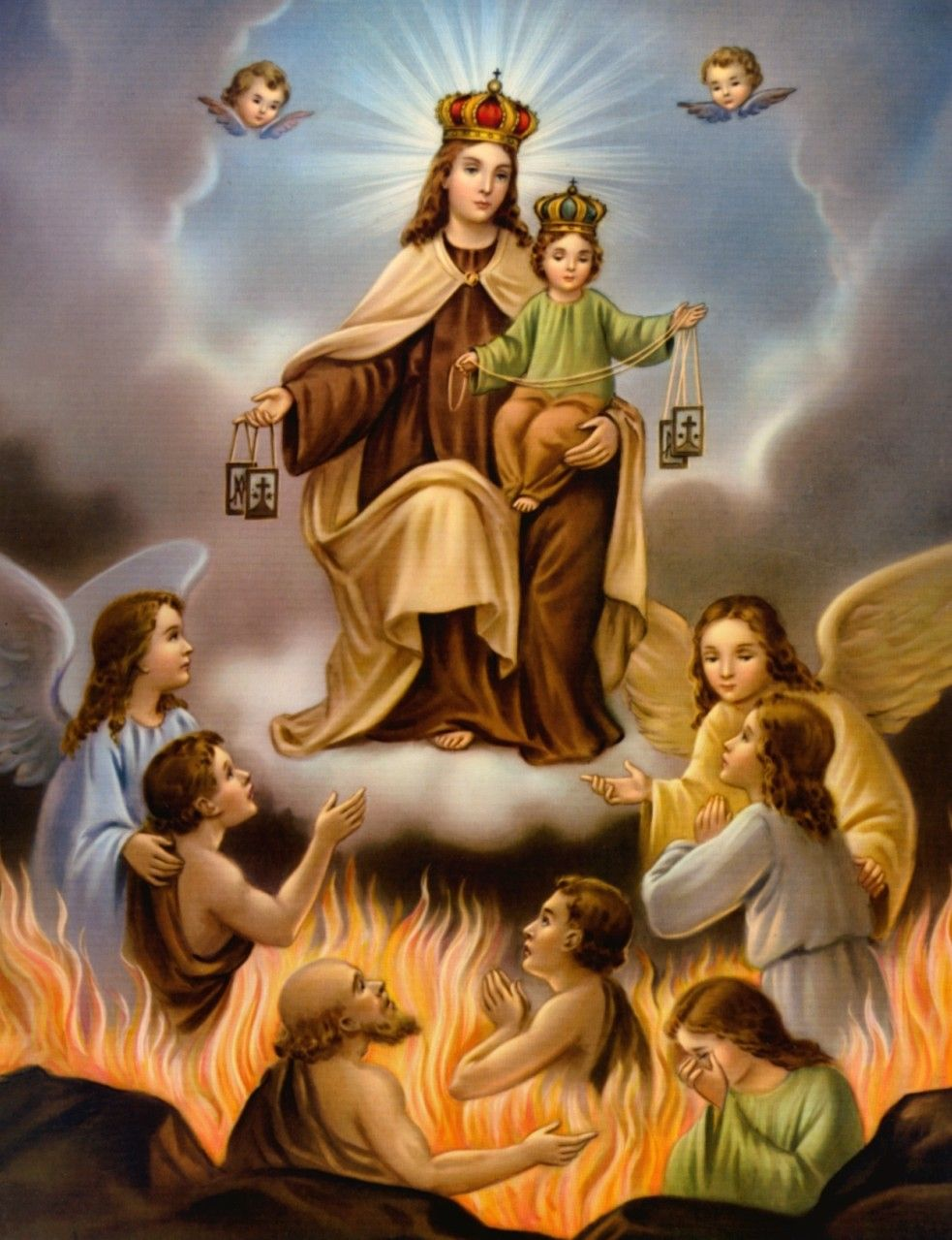 Resultado de imagen para Nuestra Señora del Carmen