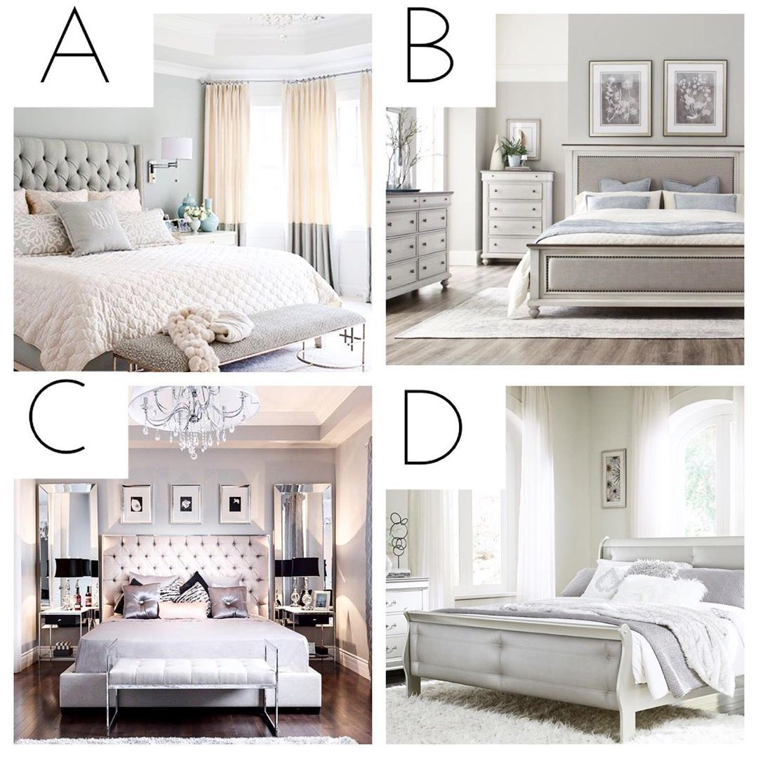 It S Bedroom Time Which Of These 4 Suits Your Style I Always Thought A Bedroom Should Be A Place To Fe Fresh Bedroom Neutral Bedroom Decor Small Room Bedroom