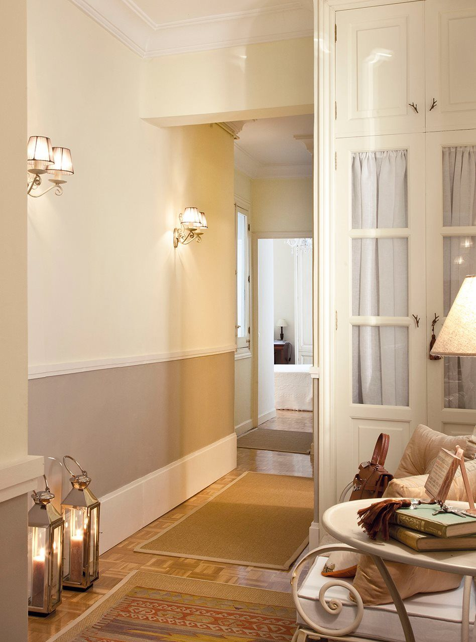 Qu luz le va a cada estancia acierta pasillos for De que color para un pasillo con escaleras