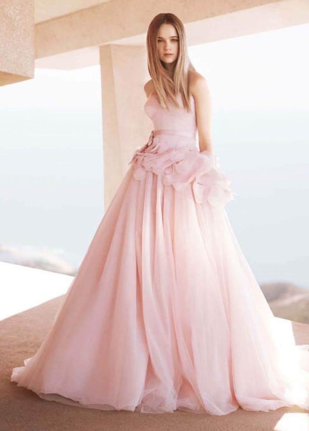 Pale pink wedding dresses pink weddings pinterest pale pink