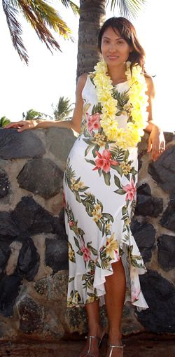 Na Ni Lo A Polynesian Sundance Hawaiian Wedding Dress Lavahut