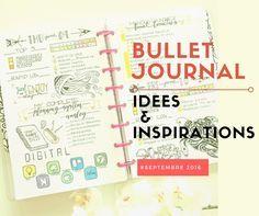 Découvrez toutes les inspirations pour construire votre bullet journal. Les idées bullet journal c'est par ici! Suivez vos activités et vos objectifs.