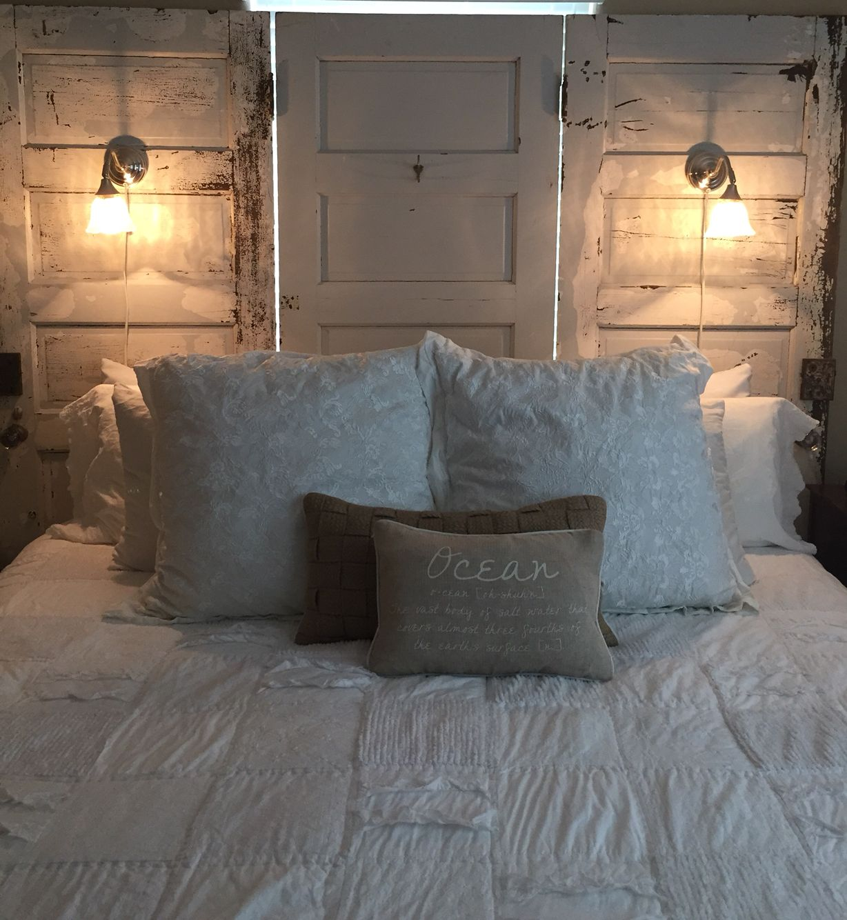 Pin on maria jc diy projects - King size headboard ideas ...