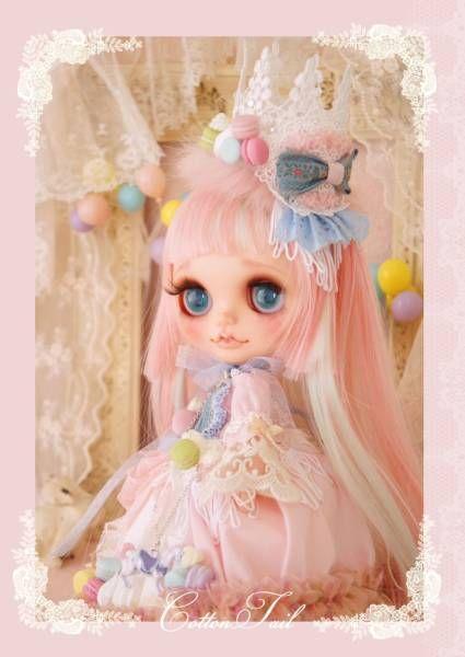 ◆ Cotton Tail ◆ macaroon Princess Custom Blythe Admin - Auction - Rinkya! Japan Auction & Shopping