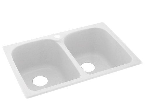Swanstone KSLB-3322.010 33-Inch by 22-Inch Super Double B ...