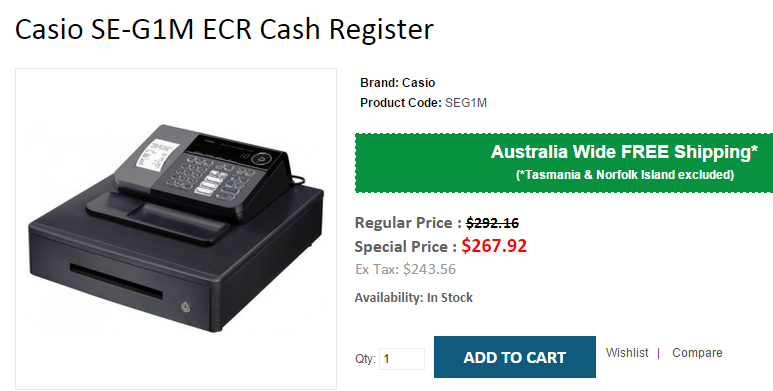 Pin on Cash Registers