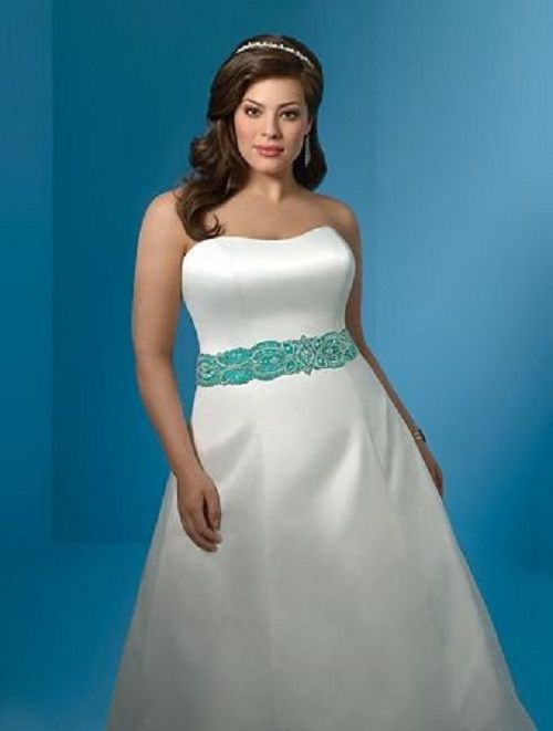 Plus-size-bridesmaid-dresses-cheap.jpg (500×661) | Full Figure Bride ...