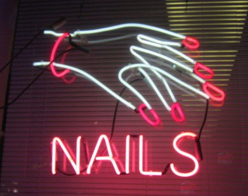 Pin by Cynde Pangas on Neon | Pinterest | Neon, Nail quotes and Nail ...