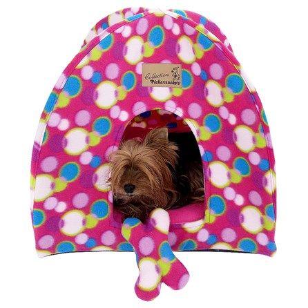 Casinha de Cachorro Pet Fêmea Pickorruchos Bolinhas - MeuAmigoPet.com.br #petshop #cachorro #cão #meuamigopet
