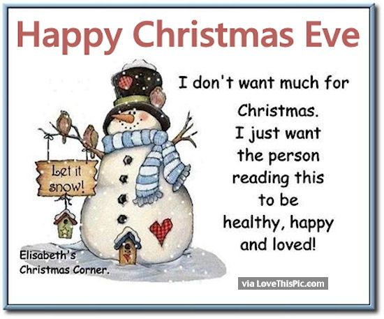 cute christmas eve quotes