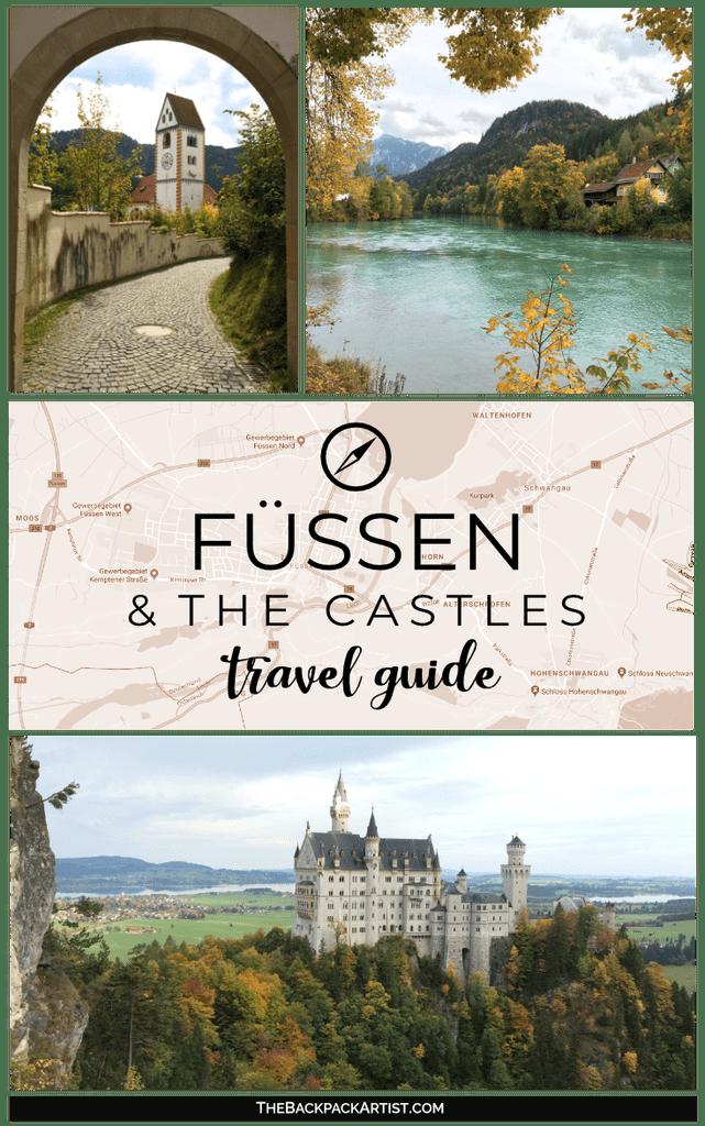 Fussen Germany Neuschwanstein Castle Hohenschwangau Castle Travel Guide Thebackpackartist Fussen German Germany Travel Guide Germany Travel Travel Guide