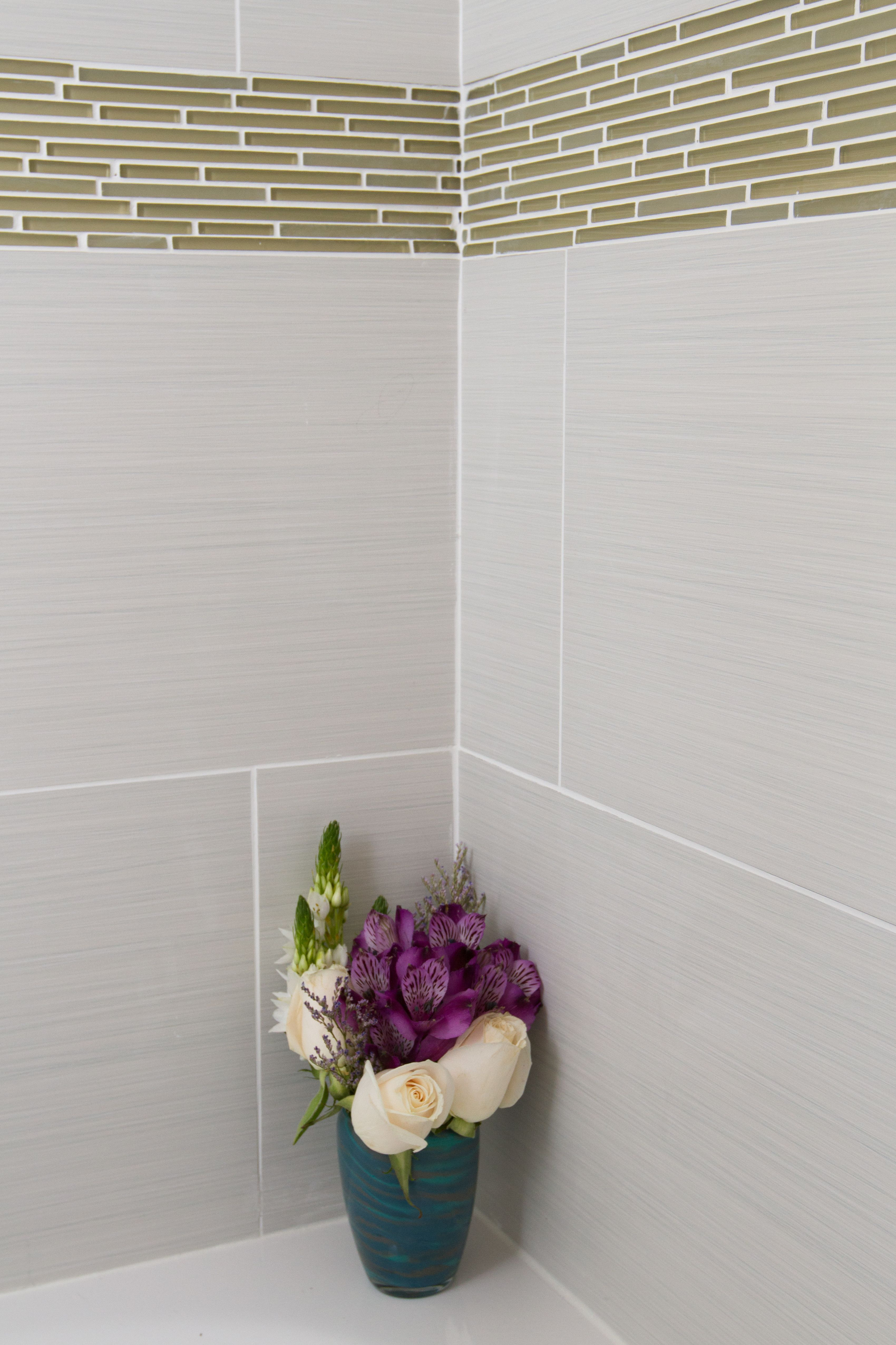 Decorative Accent Tiles For Bathroom Amazing Bathroom  Shower Tile  Blanc Linen P685 Accent Tile  Caprice Inspiration