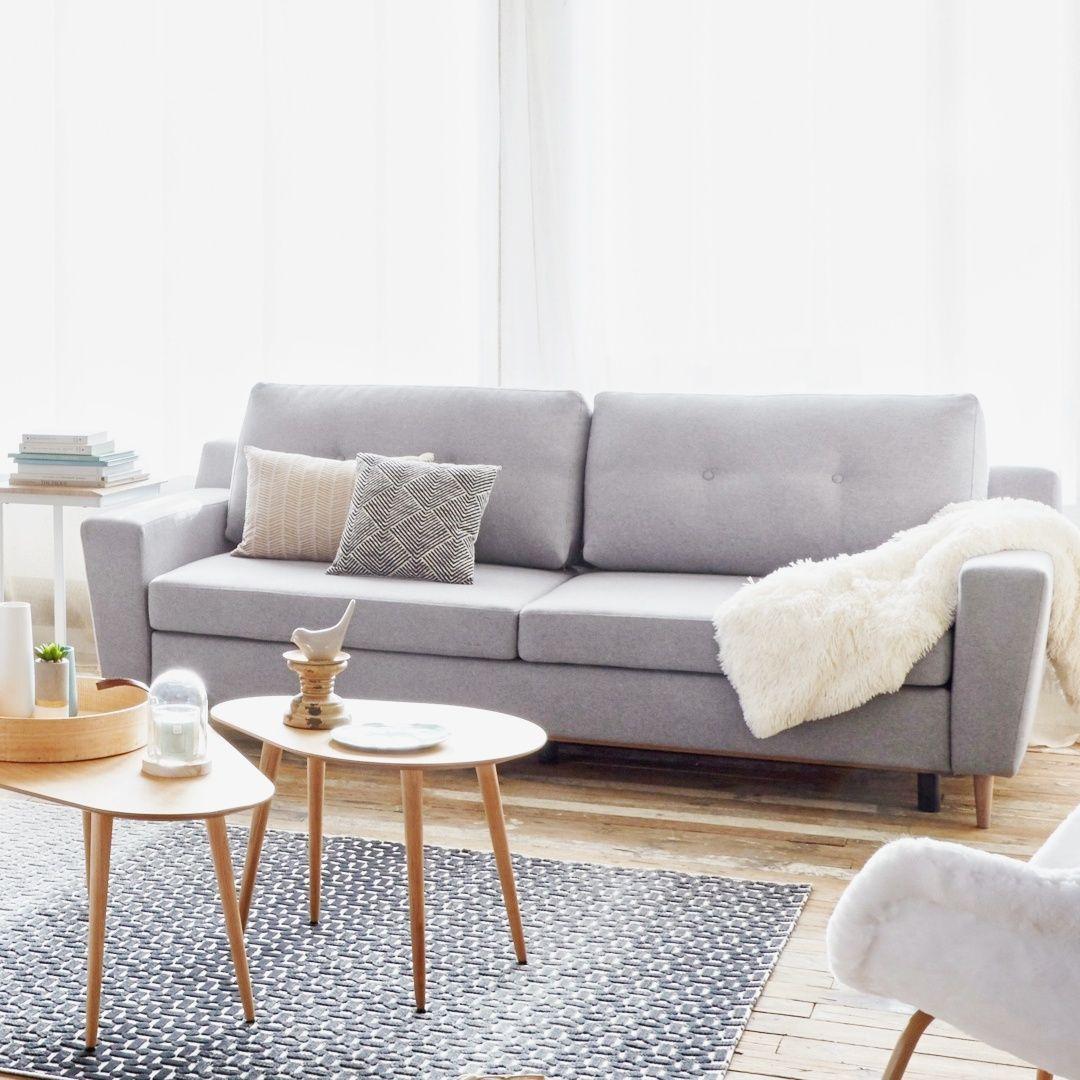 Ambiance Scandinave Avec Le Canape Ostende But Home Decor Decor Furniture