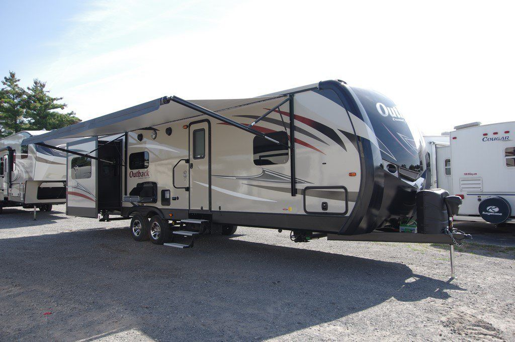 2018 Keystone Outback 298re Floor Plan Travel Trailer Small