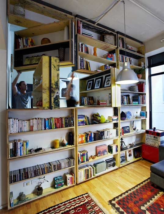 The UnWaste Rotating Bookcase