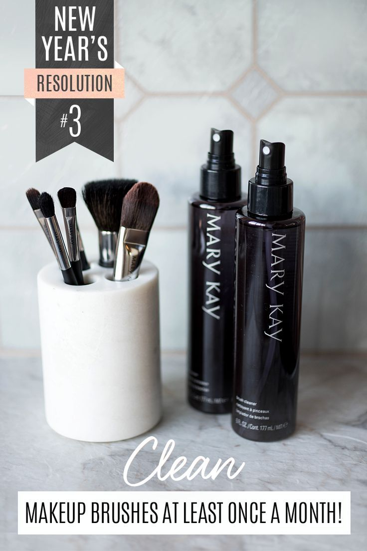 Not Sure How To Keep Your Makeup Brushes Clean? Use Mary Kay� Brush Cleaner