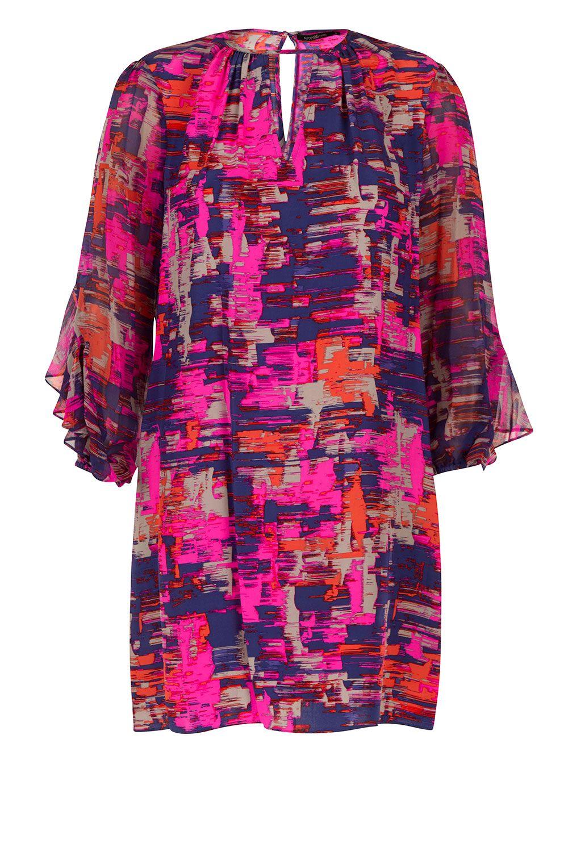 Zijden jurk Mika | roze van Alice