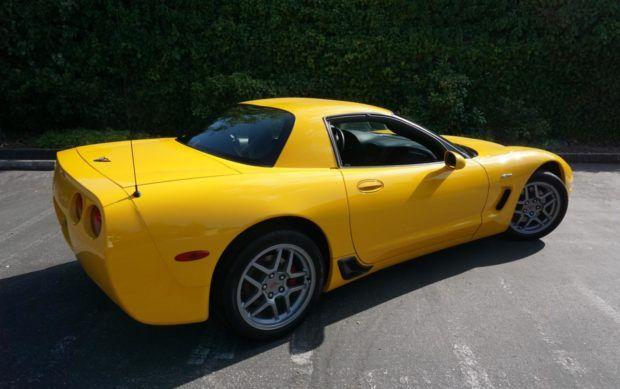 750 Mile 2004 Chevrolet Corvette Z06 Chevrolet Corvette
