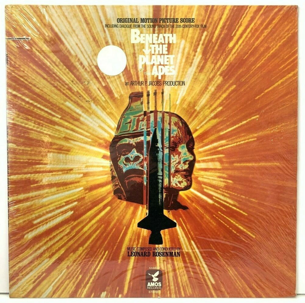 Beneath The Planet Of The Apes Ost Sealed Lp Vinyl Record Album