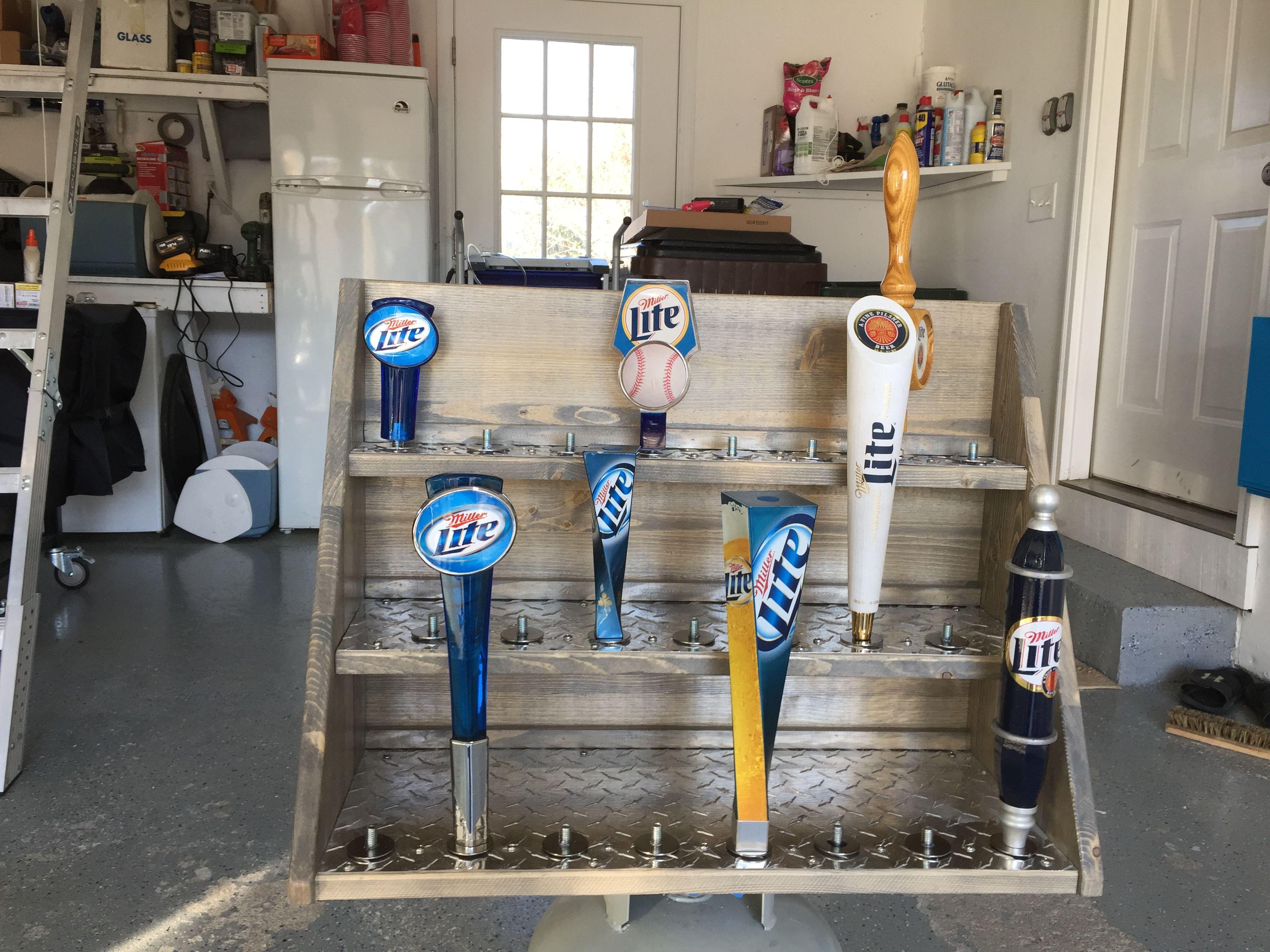 Diy Beer Tap Handle Display Diy Projects Pinterest