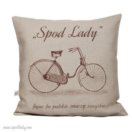 Poduszka Lniana Rower Sklep Spodlady Com Nietypowe Prezenty Absurdalne I Smieszne Gadzety W Klimacie Prl Throw Pillows Pillows Souvenir