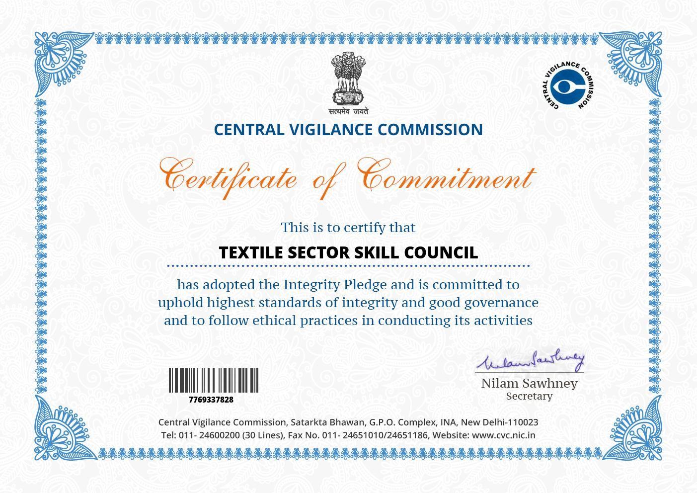 Sona Yukti takes the Integrity Pledge for a corruption