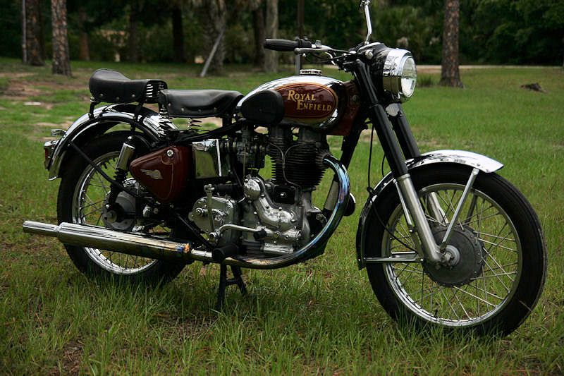 2003 500cc Royal Enfield Bullet (With images) Tron light