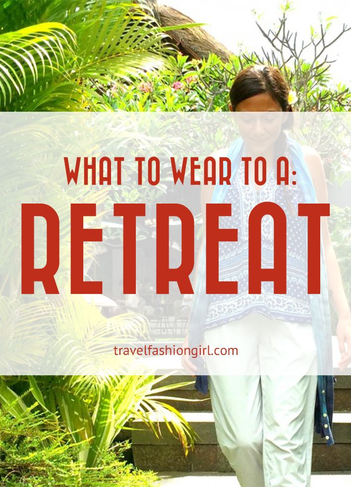 what to wear yoga retreat