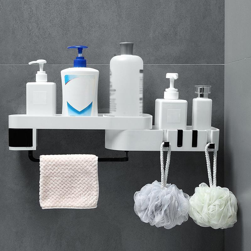 Amazon Com Xuanmuque Bathroom Soap Dispenser Wall Mounted 2 Chamber Shower Liquid Shampoo Lotion Dispensers Bottle Large Capacity 34 Oz