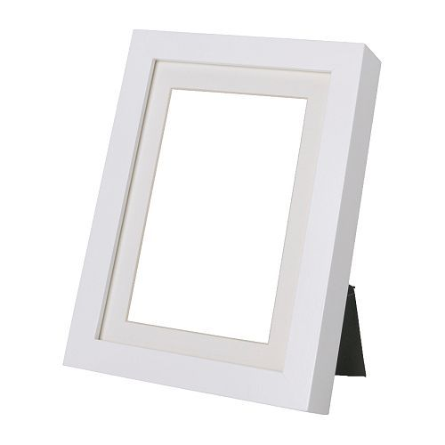 RIBBA Frame White 18x24 cm | Spaces, Nursery and Ikea shopping