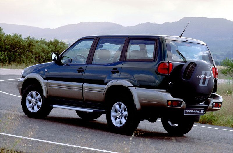 nissan terrano ii 2 4 comfort 1999 nissan terrano 2 pinterest nissan 4x4 and cars. Black Bedroom Furniture Sets. Home Design Ideas