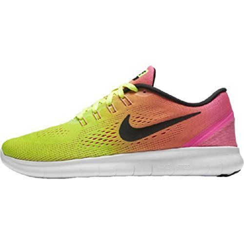 Women s Nike Free RN Olympic Color Running Shoe Multi-color Size 9.5 M US 38870b7d2