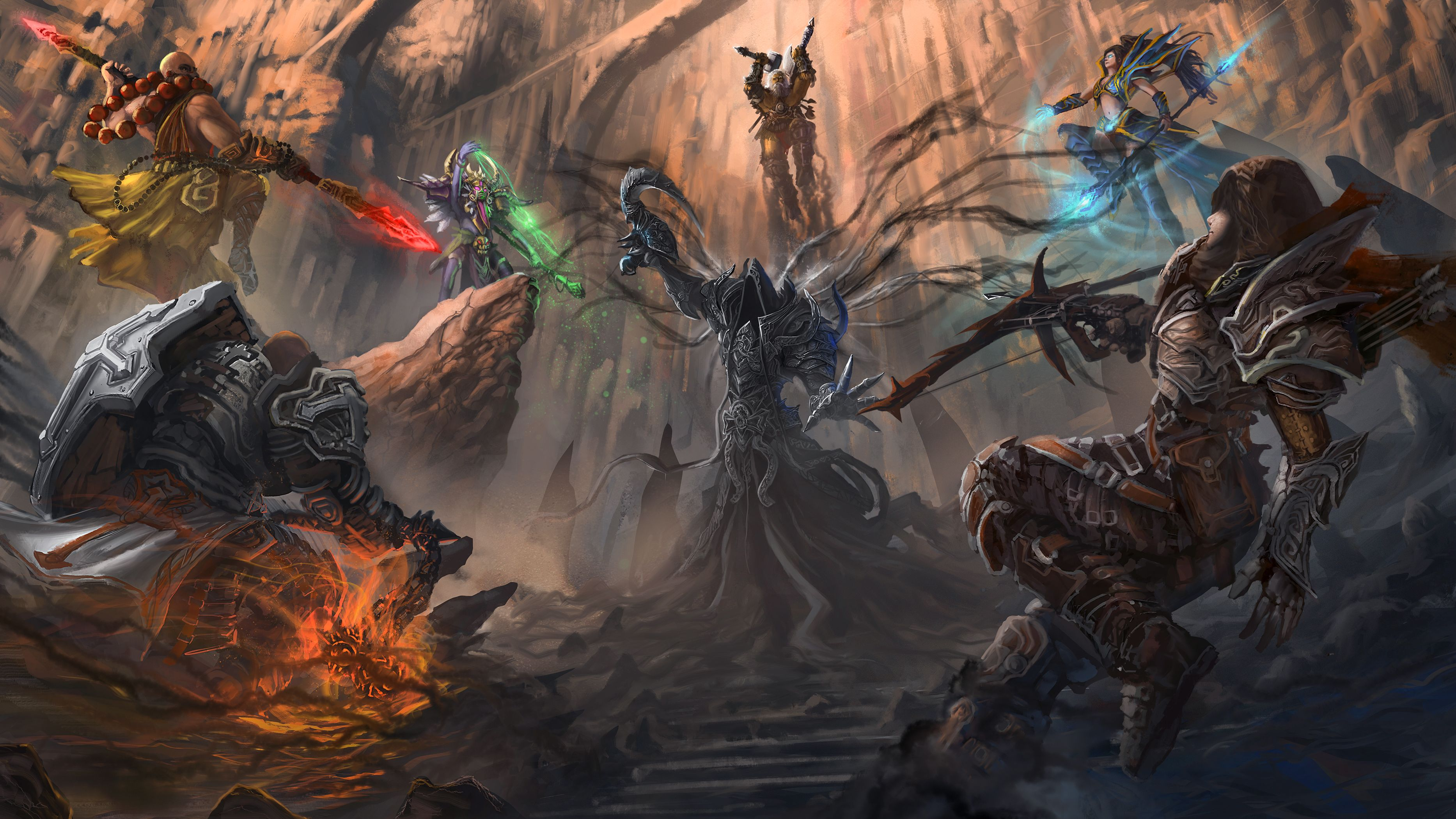 Pin By The Steve On Diablo Concept Art Drawing Art Fantasy Pictures